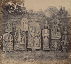 Group of sculptures from Bodh Gaya